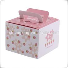 cute paper cupcake box/boxes for cake/paper cake box