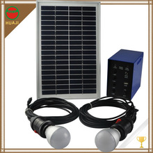 smart home automation system portable solar led lights