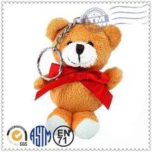 Promotion high quality new design top selling fashion teddy bear keychain