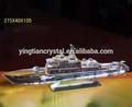 ผลึกที่มีคุณภาพaaa, รูปแบบเรือล่องเรือผลึก, คริสตัลเรือใบ, แบบจำลองผลึก