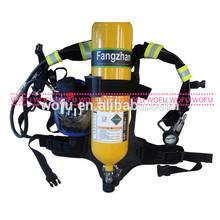 6ltr carbonsteel SCBA autónomo portátil equipos de respiración de aire