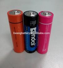 AA AAA C D size alkaline battery