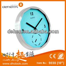 special design new glass clock (pass CE, ROHS)