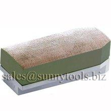 Metal bond diamond abrasive fickert for grinding granite slab