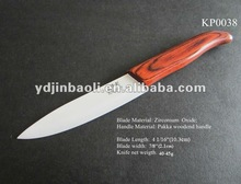 ceramic healthy fashion and noble kitchen knives chef knife