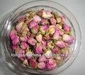 Rose bourgeons de thé à base de plantes, thé de fleur séchée, français rose bourgeons