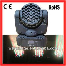 Good price 36PCS CREE 3W RGBW leds beam moving head christmas light show (WLEDM-09-1)