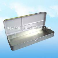 Rectangular pencil packing tin box