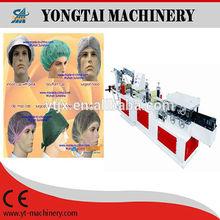 Model-YMJ PP medical cover head making machine