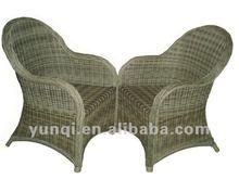 2013 modern new aluminum garden wicker chair