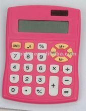 Plastic electronic solar desktop office calculator