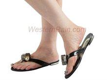 2012 Fashion lady /Women Slipper/Flip Flops with crystal