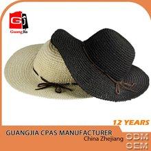 Fashion cheap straw cowboy hat straw hat