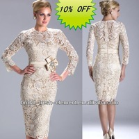 Free Shipping Vintage Mother Of The Bride Dresses With Sleeves