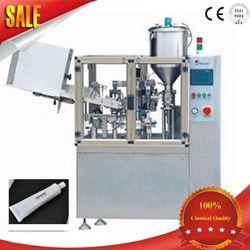 automatic super glue metal aluminium tube filling &sealing machine