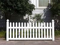 White Tan or Black Vinyl Fencing