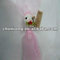 2014 new handicraft fabric voodoo string dolls girl,red string voodoo doll