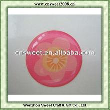 custome clear epoxy sticker dome sticker resin sticker