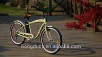 2015 new year gift cheap EN15194 beach cruiser electric bike
