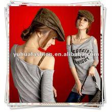 Fashion Ladies Sexy Half Sleeve off shoulder Casual Tops