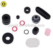 ACM automobile rubber parts with black colour