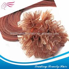 Cheap u-tip hair ~ hot sales human 100% remy hair extention