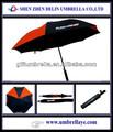 publicité parapluie de golf avec logo personnalisé