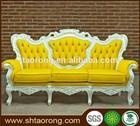 New classic white leather sofa SO-141-1