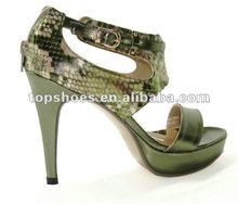 plastic high heels shoes