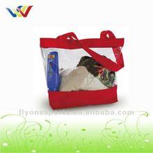 Fashion Vinyl Clear PVC Tote Bags