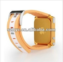 2012 Silicone Watch Band for ipod nano6