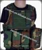 military nylon woodland camo tactical vest