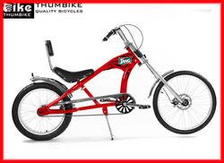 24'' red steel specialized hot style chopper bike