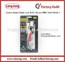 Black Neutral High tempreture RTV Silicone Sealant - Gasket maker