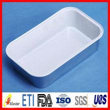 Rectangle aluminium foil container