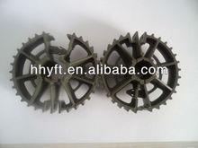 plastic rebar wheel spacer for building