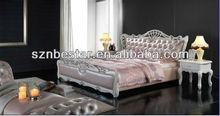 bedroom furniture soft leather bed