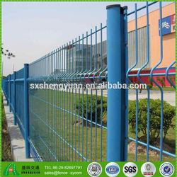 Galvanized Plus PVC Coated Decorative Garden Fence (TUV Certificated Factory)