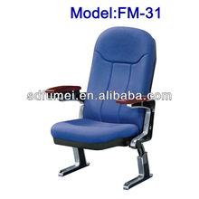 Modern commercial public seating with aluminium legs FM-31