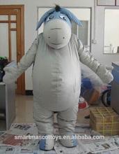 2014 New eeyore mascot costume/ adult soft eeyore costume