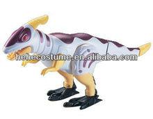 plastic mechanical electric walking rc dinosaur toy