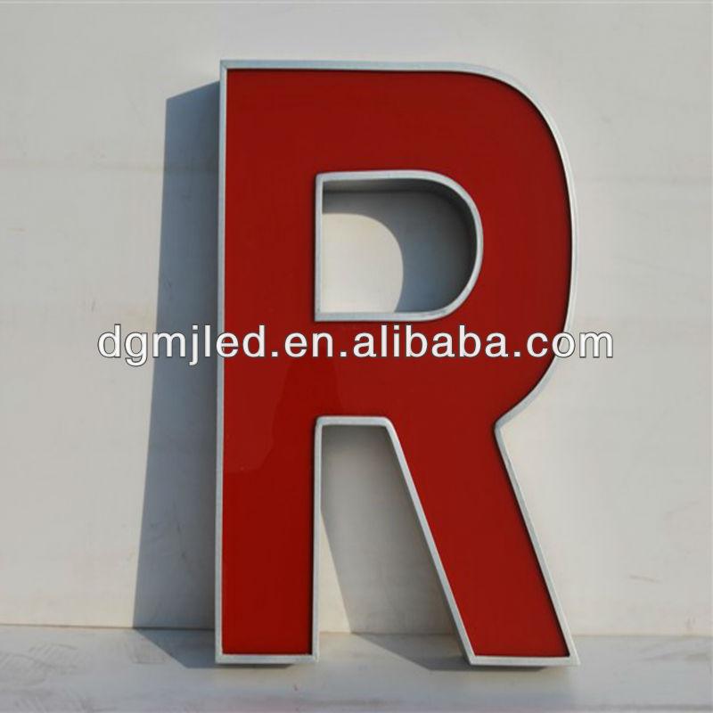 Acrylic Box Letter Making : Acrylic light box led illuminant letter sign buy