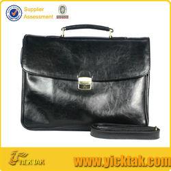 Classic Italy Designer Leather Briefcase For Men