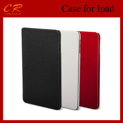 High quality flip leather case for ipad case FACE FOR IPAD MINI CASE