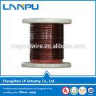 Heat resistant rectangular enamelled copper wire