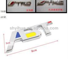 auto accessories chrome emblems