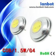 Hot sale high qulality 1.5W LED G4 Light 12V Energency Saving LED G4 Accept paypal