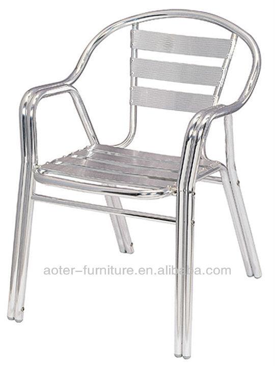 Double tube en plein air chaise en aluminium chaises en m tal id du produit 7 - Chaises en aluminium ...