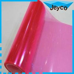 JEYCO Transmittance PET Transparent 3 layers purple tint car light protection film 0.3*9m