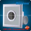 13w diodo emissor de luz do dispositivo de escape ventilador/ventilador de ventilação 2013 elétrica novainvenção na china